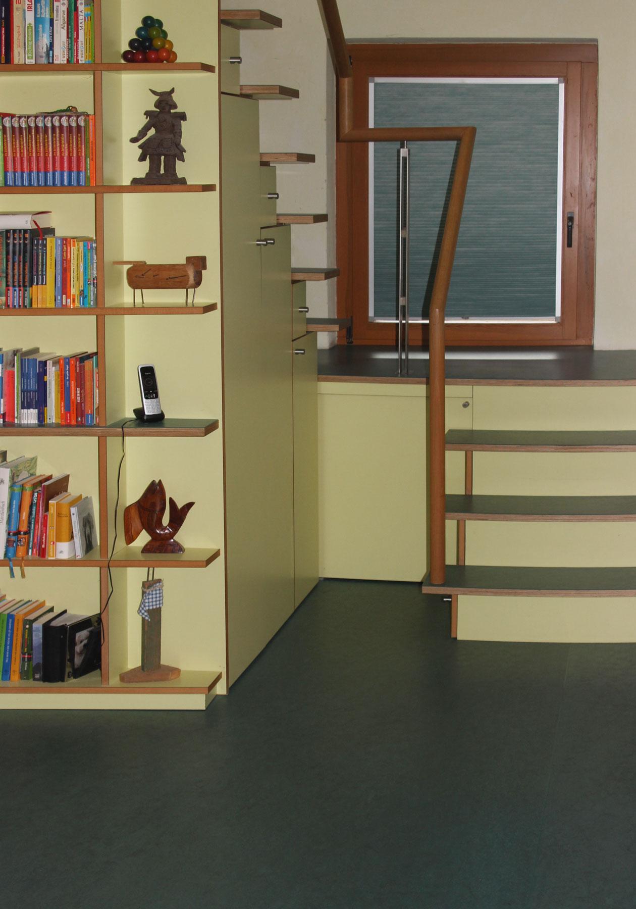 Treppe-Unterbau